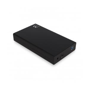 """Ewent EW7056 caja para disco duro externo 3.5"""" Caja de disco duro (HDD) Negro"""