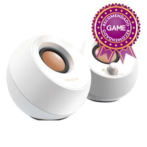Creative Pebble 2.0 Blanco USB Desktop Speakers - Altavoces