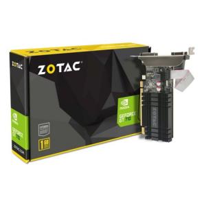 Zotac ZT-71301-20L tarjeta gráfica NVIDIA GeForce GT 710 1 GB GDDR3