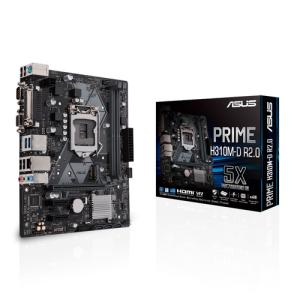 ASUS PRIME H310M-D R2.0 LGA 1151 (Zócalo H4) Micro ATX Intel® H310