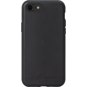 Carcasa semirigida negra Just Green para iPhone 6 7 8