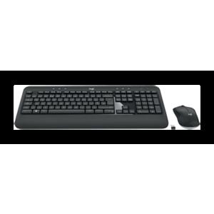 Logitech MK540 Advanced teclado RF inalámbrico QWERTY Español Negro, Blanco
