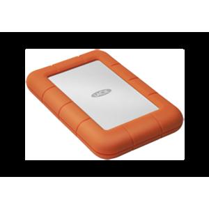 LaCie Rugged Mini disco duro externo 1000 GB Naranja, Plata