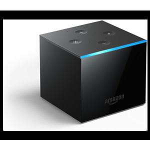 Amazon Fire TV Cube reproductor multimedia y grabador de sonido Negro 4K Ultra HD 16 GB 7.1 canales Wifi