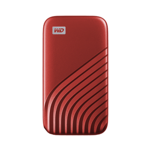 Western Digital My Passport 500 GB Rojo