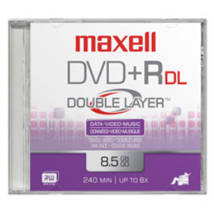 Maxell DVD+R DL 10 Pack 8,5 GB 10 pieza(s)