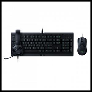 Razer Bundle Power Up -  Cynosa Lite + Viper+ Kraken X Lite - Pack Gaming