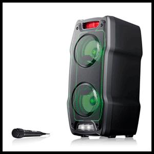 Sharp PS-929 altavoz 180 W Negro Inalámbrico y alámbrico