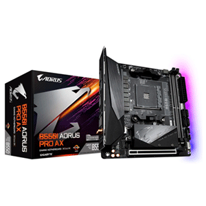 Gigabyte B550I AORUS PRO AX Zócalo AM4 mini ITX AMD B550