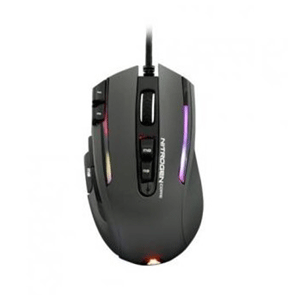G-LAB ILLUMINATED RGB GAMING MOUSE - 12000 DPI - SOFTWARE - GREY (KULT-NITROGEN-CORE)