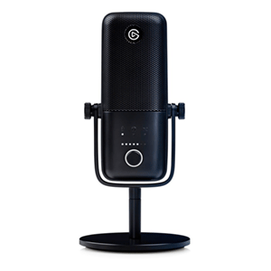 Elgato Wave 3 Micrófono de superficie para mesa Negro