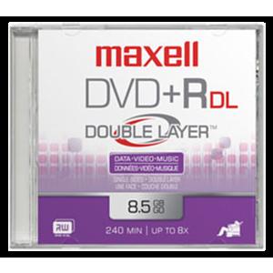 Maxell DVD+R DL 10 Pack 8,5 GB 10 pieza(s)