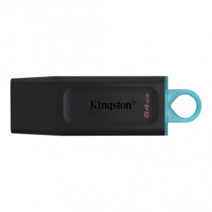 Kingston Technology DataTraveler Exodia unidad flash USB 64 GB USB tipo A 3.2 Gen 1 (3.1 Gen 1) Negro