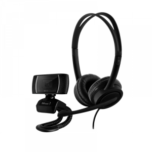Trust Doba cámara web 1280 x 720 Pixeles USB Negro