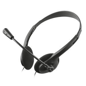 Trust Chat Headset Auriculares Diadema Negro