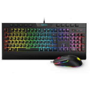 Krom Kalyos teclado USB Negro