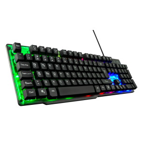 The G-Lab KEYZ-NEON teclado USB QWERTY Español Negro