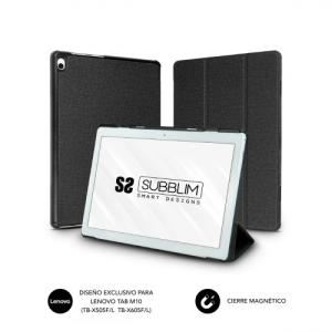 SUBBLIM Funda Tablet Shock Case Lenovo M10 TB-X505F/L TB-X605F/L Black