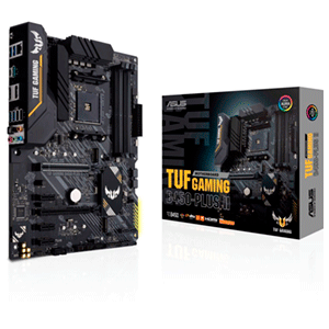 ASUS TUF GAMING B450-PLUS II Zócalo AM4 ATX AMD B450