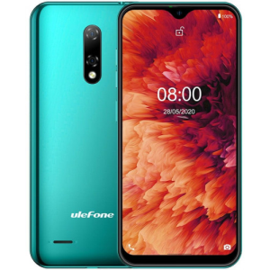 "ULEFONE SMARTPHONE NOTE 8P GREEN  4G/5.5"" FWVGA/ QC 1.3GHZ/16GB ROM/2GB RAM/5MP/3500MHA"