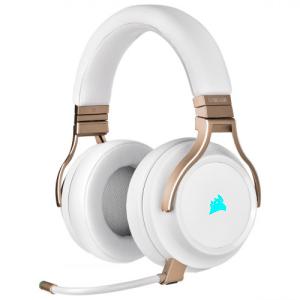 Corsair VIRTUOSO RGB Auriculares Diadema Perlado Conector de 3,5 mm