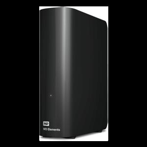 Western Digital ELEMENTS disco duro externo 2000 GB Negro