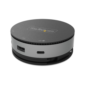 StarTech.com DKT31CHDVCM base para portátil y replicador de puertos Alámbrico USB 3.2 Gen 2 (3.1 Gen 2) Type-C Negro, Gris