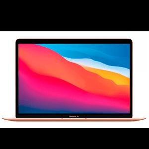 "Apple MacBook Air Portátil Oro 33,8 cm (13.3"") 2560 x 1600 Pixeles Apple M 8 GB 512 GB SSD Wi-Fi 6 (802.11ax) macOS Big Sur"