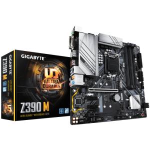 Gigabyte Z390 M placa base LGA 1151 (Zócalo H4) micro ATX Intel Z390