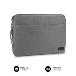 "SUBBLIM Funda Ordenador Urban Laptop Sleeve 15,6"" Grey"
