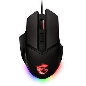 MSI Clutch GM20 Elite ratón mano derecha USB tipo A Óptico 6400 DPI