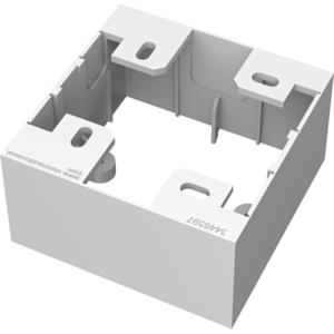 Vision TC3 BACKBOX1G caja electrica Blanco