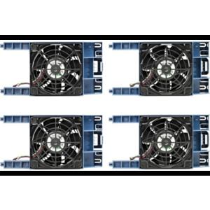 Hewlett Packard Enterprise ML110 Gen10 Redundant Fan Kit Carcasa del ordenador Ventilador Negro, Azul