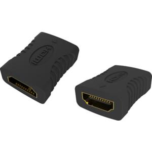 Vision TC-HDMIFF adaptador de cable HDMI-A Negro
