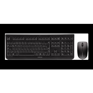 CHERRY DW 3000 teclado RF inalámbrico Español Negro