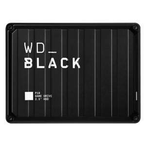 Western Digital P10 Game Drive disco duro externo 5000 GB Negro