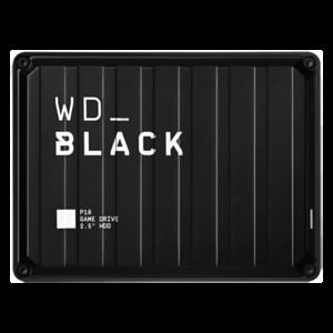 Western Digital P10 Game Drive disco duro externo 4000 GB Negro