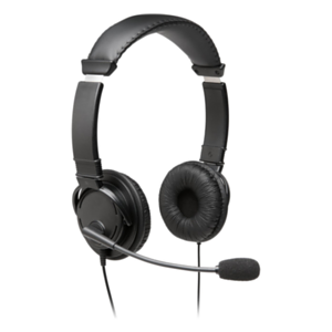 Kensington K97601WW auricular y casco Auriculares Diadema USB tipo A Negro