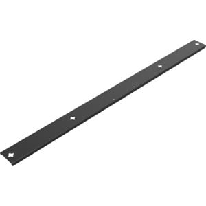 Vision VFM-WVC/RSB soporte de altavoz Soporte para TV Acero Negro