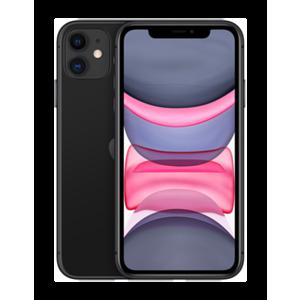 """Apple iPhone 11 15,5 cm (6.1"""") SIM doble iOS 14 4G 128 GB Negro"""