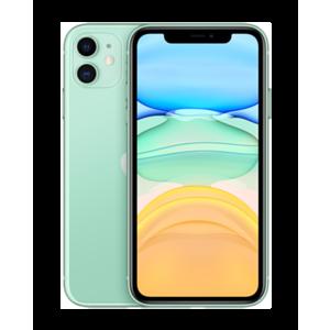 """Apple iPhone 11 15,5 cm (6.1"""") SIM doble iOS 14 4G 64 GB Verde"""