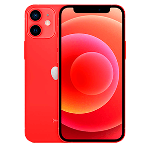 "Apple iPhone 12 mini 13,7 cm (5.4"") SIM doble iOS 14 5G 128 GB Rojo"