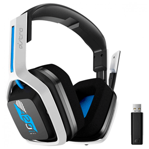 ASTRO A20 WIRELESS - PS4-PC - Blanco-azul - GEN 2