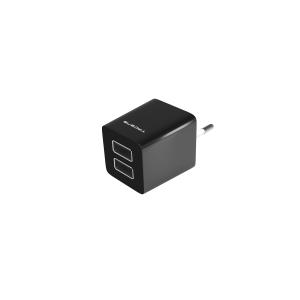 Tacens AUSB1 cargador de dispositivo móvil Negro Interior