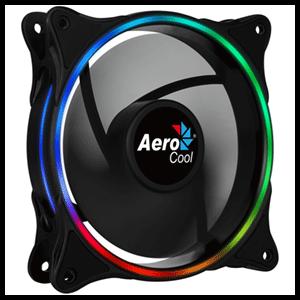 Aerocool Eclipse 12 Carcasa del ordenador Enfriador 12 cm Negro