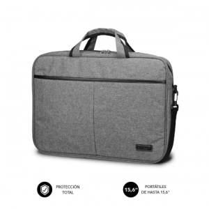 "SUBBLIM Maletín Ordenador Elite Laptop Bag 15,6"" Grey"