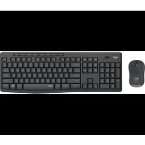 Logitech MK295 Silent Wireless Combo teclado RF inalámbrico QWERTZ Checa Negro