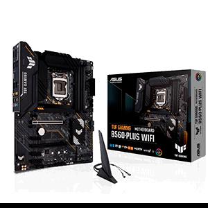 ASUS TUF GAMING B560-PLUS WIFI Intel B560 LGA 1200 ATX