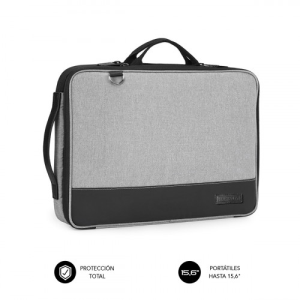 "SUBBLIM SUB-LS-2AS0001 maletines para portátil 35,6 cm (14"") Funda Gris"