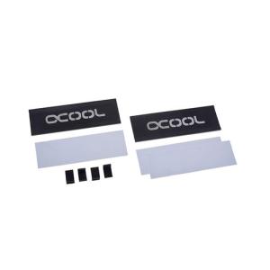Alphacool HDX - M.2 SSD M01 Conjunto de chips Radiador Negro